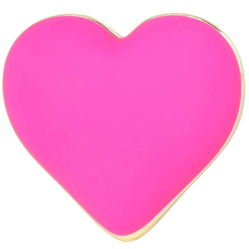 Image de Rianne S Rechargeable Silicone Heart Vibe in French Rose